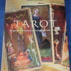 Libros de segunda mano: TAROT - KATHLEEN MCCORMACK - TASCHEN AMERICA (1999). Lote 242187065