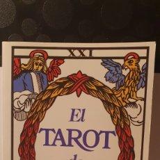 Libros de segunda mano: EL TAROT DE MARSELLA/ EDAF/ LA TABLA ESMERALDA/ ( REF.LIBRO.1.A). Lote 243267280