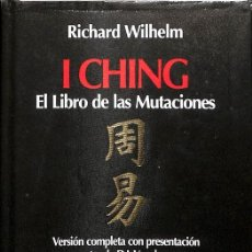 Libros de segunda mano: I CHING EL LIBRO DE LAS MUTACIONES. Lote 243835410