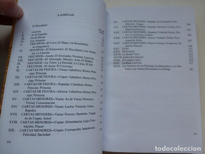 Libros de segunda mano: EL LIBRO DE THOTH. TAROT EGIPCIO. ALEISTER CROWLEY. LUIS CÁRCAMO EDITOR 2006 - Foto 7 - 246072195