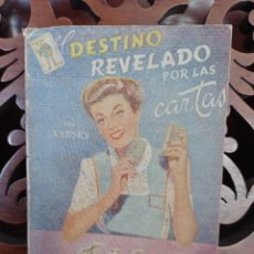 Libri di seconda mano: DESTINO REVELADO EN LAS CARTAS, PROFESOR VADSKY. AMELLER EDITOR 1959. TAROT. Lote 248091665