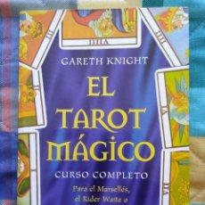 Libros de segunda mano: EL TAROT MAGICO: CURSO COMPLETO - GARETH KNIGHT (1999). Lote 248669340