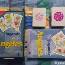 Libros de segunda mano: JUGANDO CON LOS ANGELES - (LIBRO+2 BARAJAS) - HANIA CZAJKOWSKI (1994). Lote 248960775