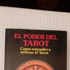 Libros de segunda mano: EL PODER DEL TAROT,1989, 200 PÁGINAS. Lote 250249355
