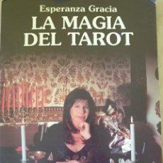 Libros de segunda mano: LA MAGIA DEL TAROT. - GRACIA, ESPERANZA.. Lote 253503360