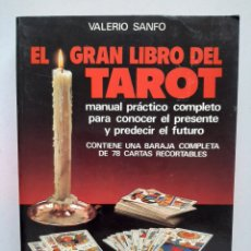Libros de segunda mano: EL GRAN LIBRO DEL TAROT - VALERIO SANFO. Lote 253509600