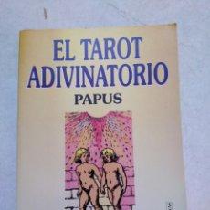 Libros de segunda mano: EL TAROT ADIVINATORIO PAPUS. Lote 253569465
