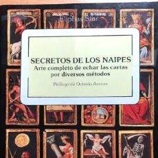Libros de segunda mano: SECRETOS DE LOS NAIPES. ARTE COMPLETO DE ECHAR LAS CARTAS POR DIVERSOS MÉTODOS. ELIPHAS STAR.OBELISC. Lote 253718885