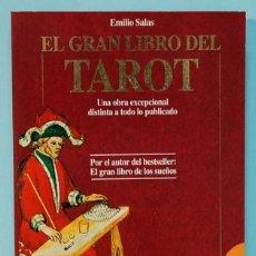 Libros de segunda mano: LMV - EL GRAN LIBRO DEL TAROT. EMILIO SALAS. EDICIONES ROBIN BOOK. 1992. Lote 253793785