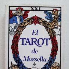 Libros de segunda mano: EL TAROT DE MARSELLA/ LA TABLA DE ESMERALDA - PAUL MARTEAU. Lote 253905375