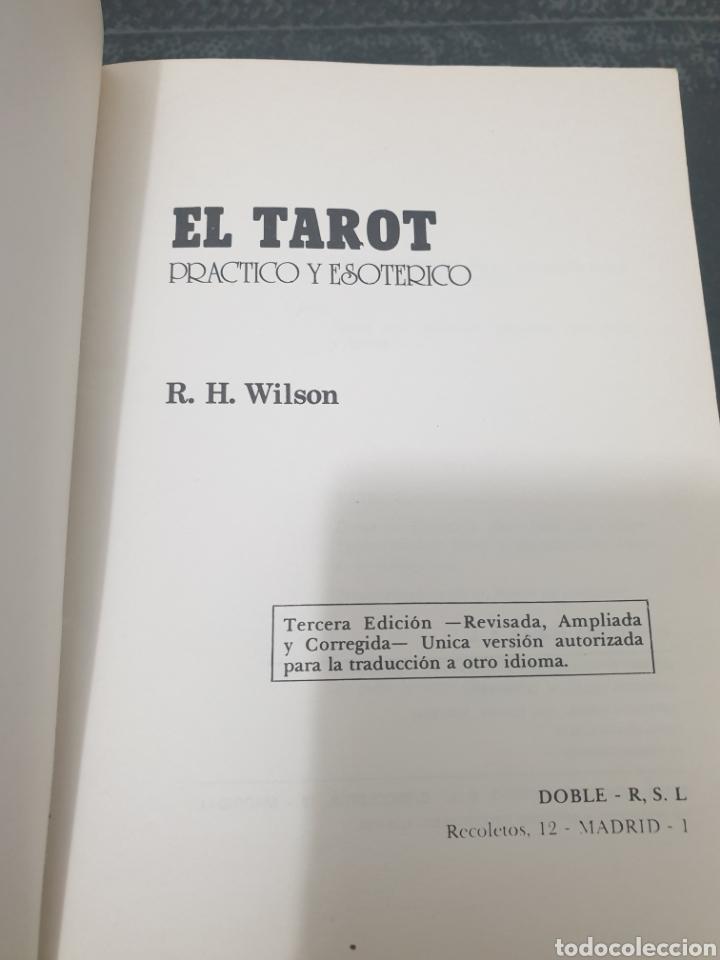 Libros de segunda mano: El tarot, r.h. Wilson, 1981 - Foto 5 - 255358630