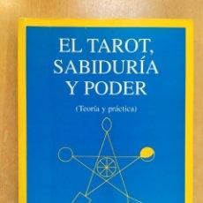Libros de segunda mano: EL TAROT, SABIDURIA Y PODER (TEORÍA Y PRÁCTICA / J.A. PORTELLA / ARCANO BOOKS. 1ªED. 1995. Lote 256036615