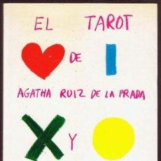 Libros de segunda mano: EL TAROT DE AGATHA RUIZ DE LA PRADA Y OCTAVIO ACEVES. Lote 256049045