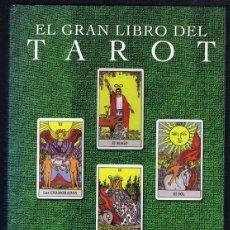 Libros de segunda mano: EL GRAN LIBRO DEL TAROT HAJO BANZHAF. Lote 256053785