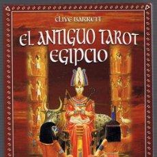 Libros de segunda mano: EL ANTIGUO TAROT EGIPCIO CLIVE BARRET. Lote 256060115
