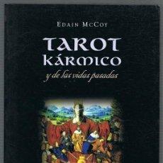 Libros de segunda mano: TAROT KÁRMICO Y DE LAS VIDAS PASADAS EDAIN MCCOY. Lote 256060570
