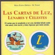 Libros de segunda mano: LAS CARTAS DE LUZ,LUNARES Y CELESTES ROSA ELENA ORTEGA - EL YAZAY. Lote 257534075