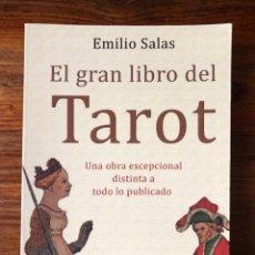 Libros de segunda mano: EL GRAN LIBRO DEL TAROT: UNA OBRA EXCEPCIOAL DISTINTA A TODO LO PUBLICADO. EMILIO SALAS. ROBIN COOK. Lote 261626960