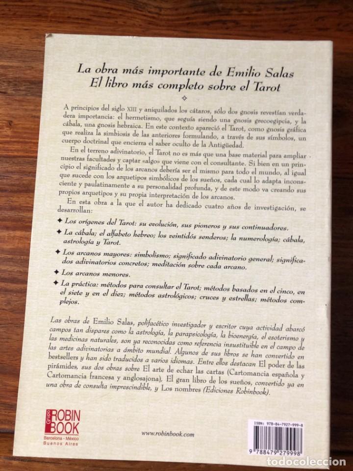 Libros de segunda mano: El gran libro del Tarot: Una obra excepcioal distinta a todo lo publicado. Emilio Salas. Robin Cook - Foto 2 - 261626960