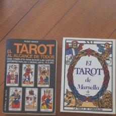 Libri di seconda mano: LOTE TAROT MAS CARTAS. Lote 261675195