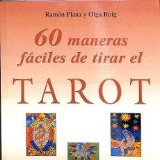 Libros de segunda mano: 60 MANERAS FÁCILES DE TIRAR EL TAROT. Lote 261968880