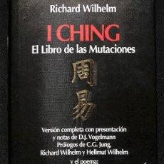 Libros de segunda mano: I CHING EL LIBRO DE LAS MUTACIONES. Lote 261968955