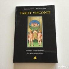 Libros de segunda mano: TAROT VISCONTI. EJEMPLO EXTRAORDINARIO DEL ARTE RENACENTISTA. G.BERTI. EDIT GAIA. Lote 262419195