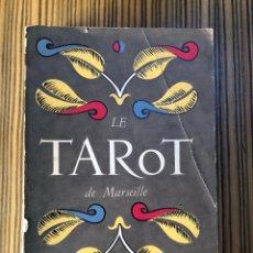 Libros de segunda mano: LE TAROT DE MARSEILLE - PAUL MARTEAU (1949) - LIBRO EN FRANCÉS. Lote 262438635