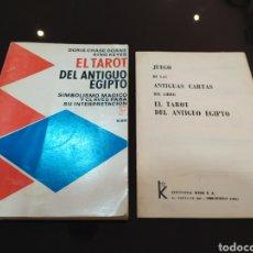 Libros de segunda mano: EL TAROT DEL ANTIGUO EGIPTO. DORIS CHASE DOANE, KING KEYES. Lote 262678580