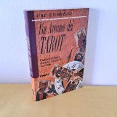 Libros de segunda mano: COLETTE H. SILVESTRE - LOS ARCANOS DEL TAROT, CONOZCA SU FUTURO DÍA A DÍA A TRAVÉS DE LAS CARTAS. Lote 262931165