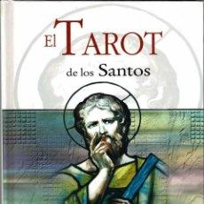Libros de segunda mano: EL TAROT DE LOS SANTOS (SÓLO LIBRO) - AUXI M. CABALLERO. Lote 263020125
