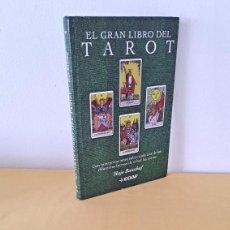 Libros de segunda mano: HAJO BANZHAF - EL GRAN LIBRO DEL TAROT - EDICIONES EDAF 2003. Lote 264480759