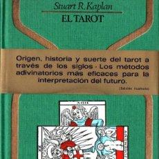 Libros de segunda mano: KAPLAN : EL TAROT (OTROS MUNDOS PLAZA, 1978) PRIMERA EDICIÓN. Lote 266146603