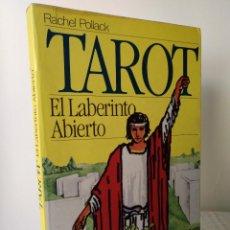 Livres d'occasion: TAROT. EL LABERINTO ABIERTO. RACHEL POLLACK. Lote 266807129