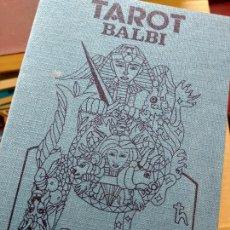 Libri di seconda mano: TAROT BALBI – LIBRO DE INSTRUCCIONES. Lote 267225814