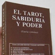 Libri di seconda mano: EL TAROT, SABIDURÍA Y PODER - J.A. PORTELA. Lote 268725239