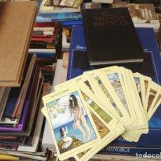 Livres d'occasion: EL TAROT MÍTICO. JULIET SHARMAN Y LIZ GREENE. LIBRO + 78 CARTAS. Lote 268783444