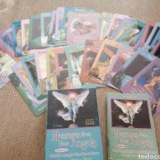 Libros de segunda mano: CARTAS ADIVINACION TAROT ANGELES DOREEN ARCANGELES. Lote 269188648