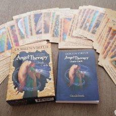 Libros de segunda mano: CARTAS ADIVINACION ARCANGELES TAROT ANGELES DOREEN. Lote 269188853