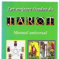 Libros de segunda mano: LAS MEJORES TIRADAS DE TAROT MANUAL UNIVERSAL CRISTINA BEATI. Lote 270096043
