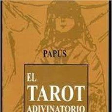 Libros de segunda mano: EL TAROT ADIVINATORIO PAPUS. Lote 270134158
