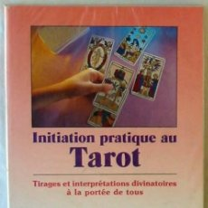 Libros de segunda mano: INITIATION PRATIQUE AU TAROT - TIRAGES ET INTERPRETATIONS DIVINATOIRES A LA PORTEE DE TOUS - VER. Lote 270200863