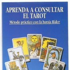 Libros de segunda mano: APRENDA A CONSULTAR EL TAROT HAJO BANZHAF. Lote 273532863