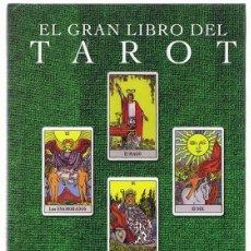 Libros de segunda mano: EL GRAN LIBRO DEL TAROT HAJO BANZHAF. Lote 274632213
