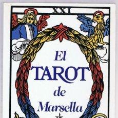 Libros de segunda mano: EL TAROT DE MARSELLA PAUL MARTEAU. Lote 274874908