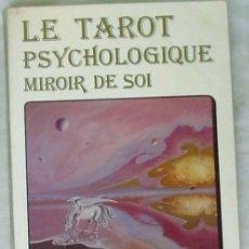 Livros em segunda mão: LE TAROT PSYCHOLOGIQUE - MIROIR DE SOI - UN ESSAI DE PSYCHOLOGIE APPLIQUEE - DENISE ROUSSEL - VER. Lote 276017453
