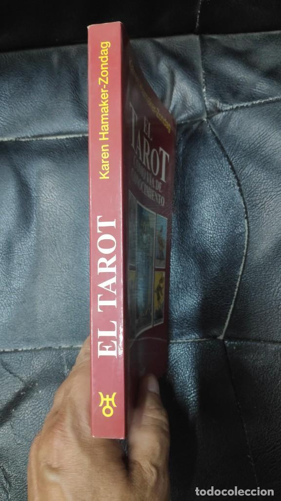 Libros de segunda mano: EL TAROT COMO VIA DE CONOCIMIENTO ( KAREN HAMAKER- ZONDAG - Foto 3 - 277504573