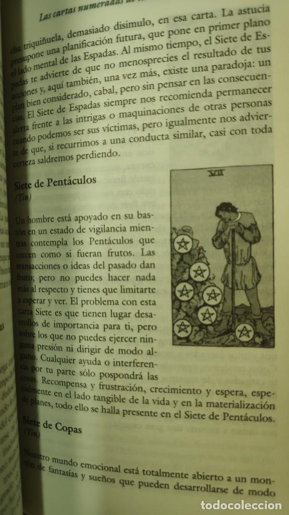 Libros de segunda mano: EL TAROT COMO VIA DE CONOCIMIENTO ( KAREN HAMAKER- ZONDAG - Foto 6 - 277504573