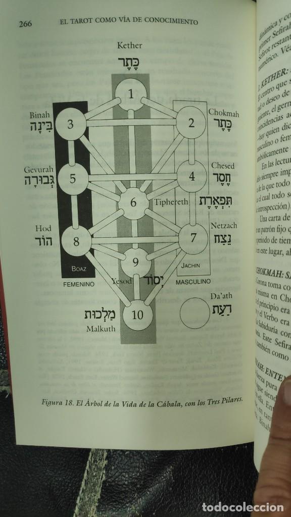 Libros de segunda mano: EL TAROT COMO VIA DE CONOCIMIENTO ( KAREN HAMAKER- ZONDAG - Foto 8 - 277504573