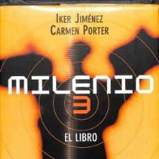 Libros de segunda mano: MILENIO 3 EL LIBRO (PRECINTADO). Lote 277577783